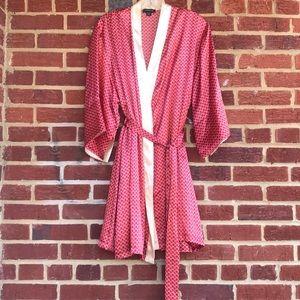 Jones of New York négligée/robe 2 pc L/XL Set